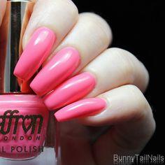 BunnyTailNails: Sanna Tara Nail Art - Saffron 46