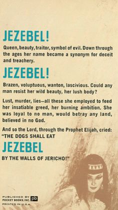 What are some characteristics of a jezebel?