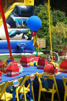 Superhero Party Send In The Clowns LA