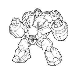 Kleurplaten Van Skylanders Trap Team.7 Beste Afbeeldingen Van Kids Transformers Kleurplaat Transformers