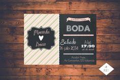 INVITACION DE BODA | Mrs Prints