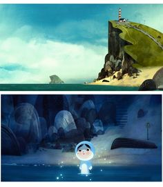 """""""Song of the Sea"""" by animated movie (2014). Fresh Rotten Tomatoes Certified- Critic Score - 98% and User Score- 90%. Story of Saoirse is a child who is the last of the selkies, women in Irish and Scottish legends who transform from seals into people. She escapes from her grandmother's home to journey to the sea and free fairy creatures trapped in the modern world."""