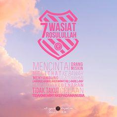 7 Wasiat Nabi SAW