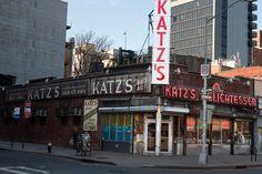 Katz Deli East Houston Street New York City #newyork, #NYC, #pinsland, https://apps.facebook.com/yangutu
