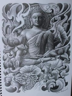 - You are in the right place about (notitle) Tattoo Design And Style Galleries On The Net – Are The - Buddha Tattoo Design, Lion Tattoo Design, Elephant Tattoo Design, Buddha Tattoos, Tattoo Designs Men, Asian Tattoos, Black Ink Tattoos, Black And Grey Tattoos, Body Art Tattoos