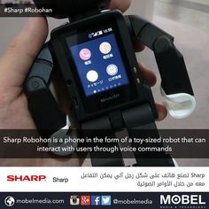 #Sharp #Robohon is a phone in the form of a toy-sized robot that can interact with users through voice commands