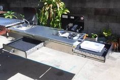 Image result for ute canopy for camping Off Road Trailer, Trailer Build, Ute Canopy, Camping Canopy, Camper Trailers, Campers, Portable House, Outdoor Furniture Sets, Outdoor Decor