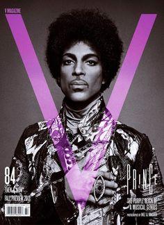 Prince V Magazine cover