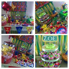 Elmo birthday party for my Zozo!