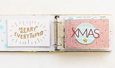 Big Picture Classes | Christmas Traditions Mini : Album Walk-Through