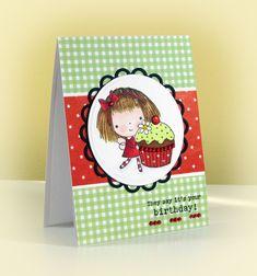 Last Cupcake Mimi by swldebbie - Cards and Paper Crafts at Splitcoaststampers