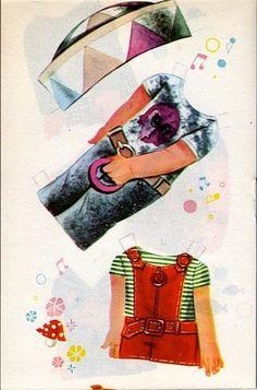 A Ana Rocha, querida leitora do nosso blog, me enviou a coleção das Bonecas de Papel Cabeçudas da Coleção Modelito completa, para publicar ...