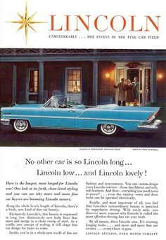 Lincoln 1957 Brochure  Could they get any longer