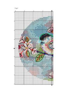 Cross Stitch Cards, Cross Stitch Embroidery, Cross Stitch Patterns, Winne The Pooh, Filet Crochet, Handicraft, Diy And Crafts, Kids Rugs, Bird
