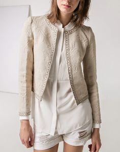 mango jacket // chaqueta bordada