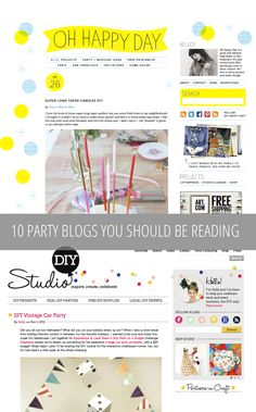 10 awesome party blogs