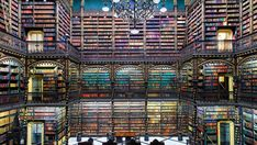 The World's Most Beautiful Interiors | Departures Rem Koolhaas, Portuguese Royal Family, Portuguese Empire, Library Architecture, Neoclassical Architecture, Beautiful Library, World's Most Beautiful, Beautiful Interiors, Empire State Building