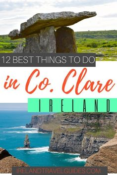 12 Best Things To Do in County Clare - Ireland Travel Guides 12 Best Things To Do in County Clare. The Burren Hike/Walks-Ancient sites Ireland Travel Guide, Europe Travel Tips, European Travel, Travel Guides, Travel Destinations, Travelling Europe, Traveling, Budget Travel, Clare Ireland