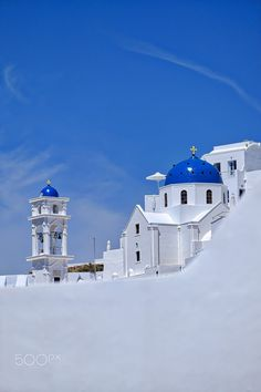 White & blue, Santorini, Greece