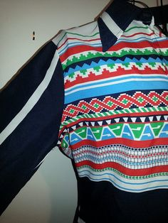 Funky 1970' Shirt by ParrotMoon on Etsy