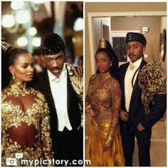 Coming to America Costume Black Couple Halloween Costumes, Clever Halloween Costumes, Hallowen Costume, Cool Halloween Costumes, Halloween Cosplay, Spirit Halloween, Halloween Outfits, Cosplay Costumes, Halloween Party