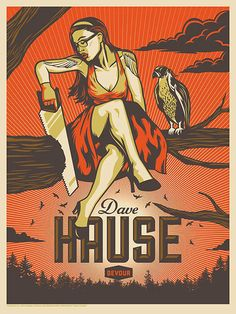 Dave Hause poster