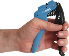 The Ultimate Hand Grip Strengthener - Adjustable Hand Exerciser with 4 Resistance Settings - Beginner, Intermediate, Advanced and Extreme. Includes Free Crush Your Competition Workout Guide