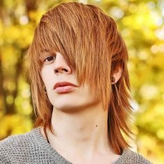 Emo Guys With Long Hair