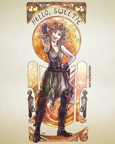 Hello, Sweetie – River Song - Doctor Who by Aimee Steinberger aimeemajor.com