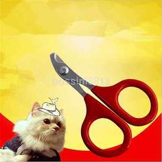 Grooming Tool Nail Clipper Scissors Trimmer for Small Pet Dog Cat Puppy Best CA