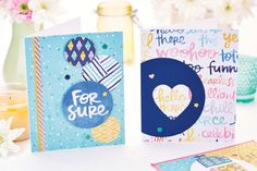 Try out the new Amy Tangerine Finders Keepers range // From PaperCrafter issue 90