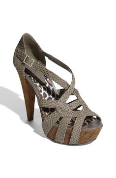 Jessica Simpson 'Massi' Sandal- her shoes are my fav!