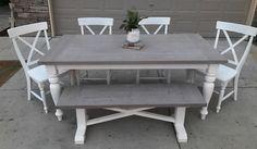 Custom farm table