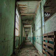 Factory Hallway