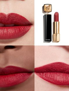 Lion, Makeup News, Chanel Beauty, Chanel Spring, Lipstick, Velvet, Collection, Winter Time, Red