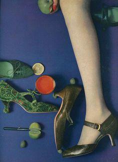 August Vogue 1958 by William Klien