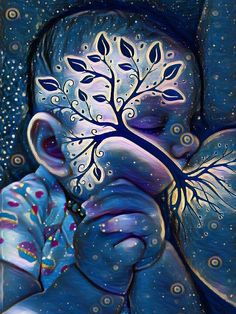 "Moms From Different Walks of Life Share Their ""Tree of Life"" Breastfeeding Photos Mother Art, Mother And Child, Pregnancy Art, Pregnancy Signs, Early Pregnancy, Breastfeeding Photos, Birth Art, Spiritual Paintings, Sacred Feminine"