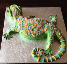 lizard cake ideas | Share