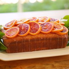 Blood Orange Pound Cake-So Moist! A wonderful Easter dessert or Mother's Day Cake. Moist and light and so flavorful too! Kid Desserts, Dessert Recipes, Easter Recipes, Orange Recipes, Sweet Recipes, Margarita Recipes, Vodka Drinks, Sangria Recipes, Mother's Day