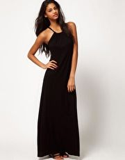 ASOS Maxi Dress With Halter Neck    get 7% cash back on top of any valid promo code or discount via Studentrate :)