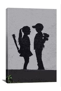 Street Art: Boy Meets Girl