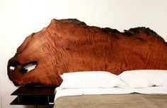 Raw Beauty: 5 Slab Headboards | Apartment Therapy