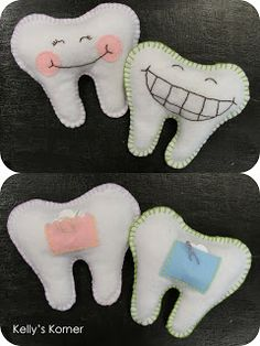 Check out these pillows for your lost teeth!