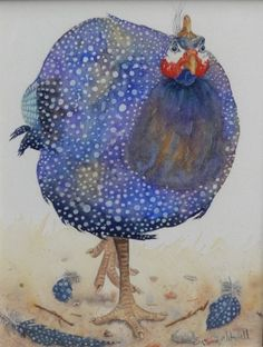 Susan Mitchell - Guinea Fowl