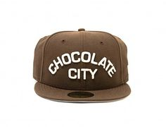 Chocolate City 59Fifty Fitted Cap by MAJOR DC
