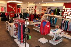 The PUMA Store Galeria Vankovka, Brno.