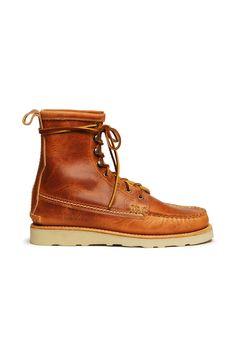 Maine Guide Boots, D Natural - Yuketen