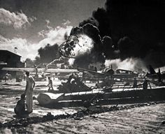 Japanese Attack Pearl Harbor - 1941