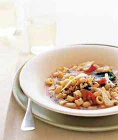 Pasta and White Bean Soup