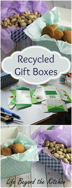 Recycled Gift Boxes